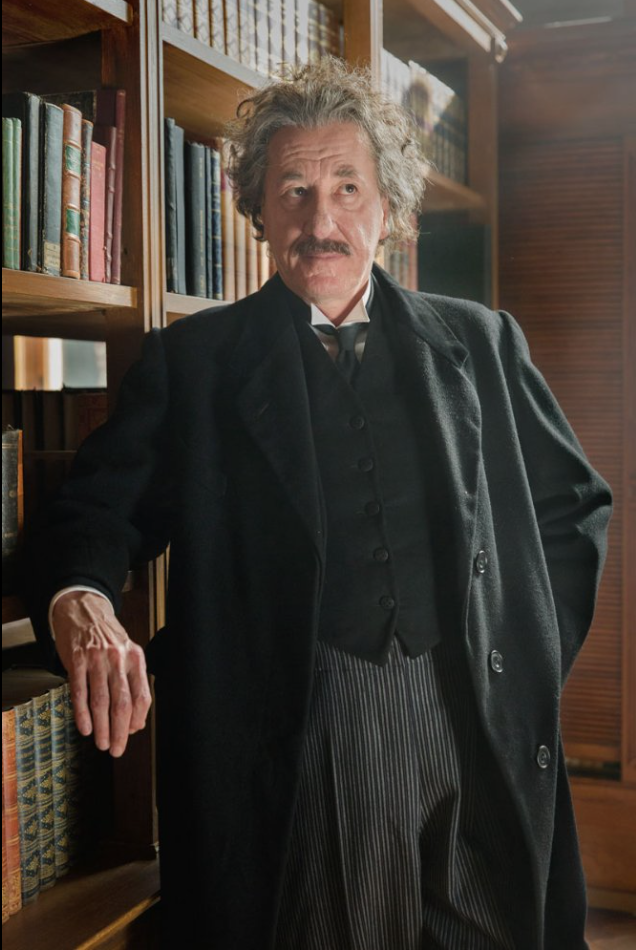 take a peak at how Einstein will look in the upcoming series. fox national geofraphic